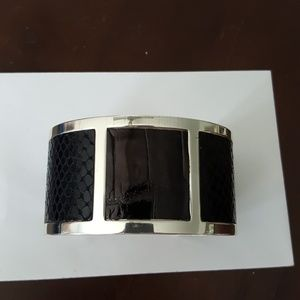 Brighton Cuff Bracelet with Leather